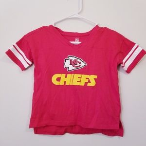 NFL KC Chiefs Small Red T Shirt